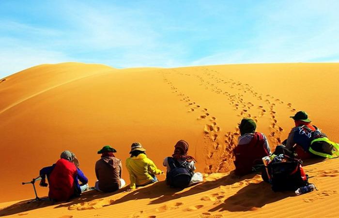 Đồi cát hồng - Mũi Né
