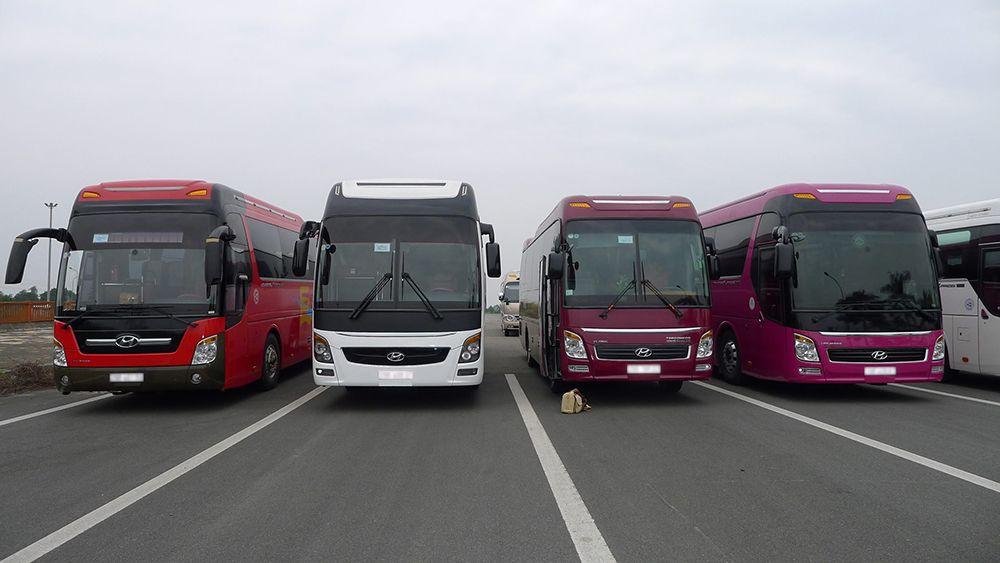 Dịch vụ cho thuê xe 45 chỗ tại Huỳnh Gia được rất nhiều khách hàng tin tưởng sử dụng