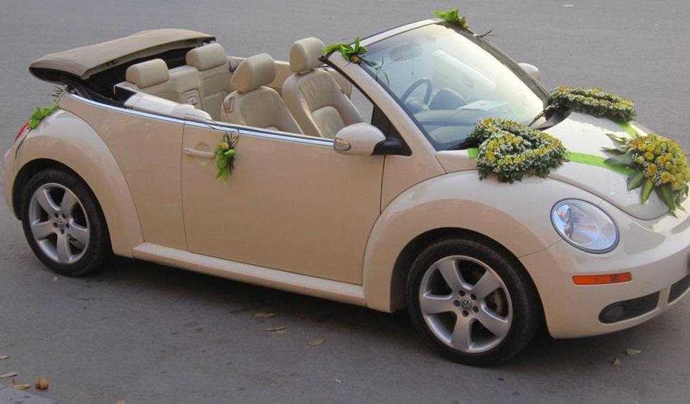 Vì sao xe cưới mui trần lại được nhiều người ưa chuộng?