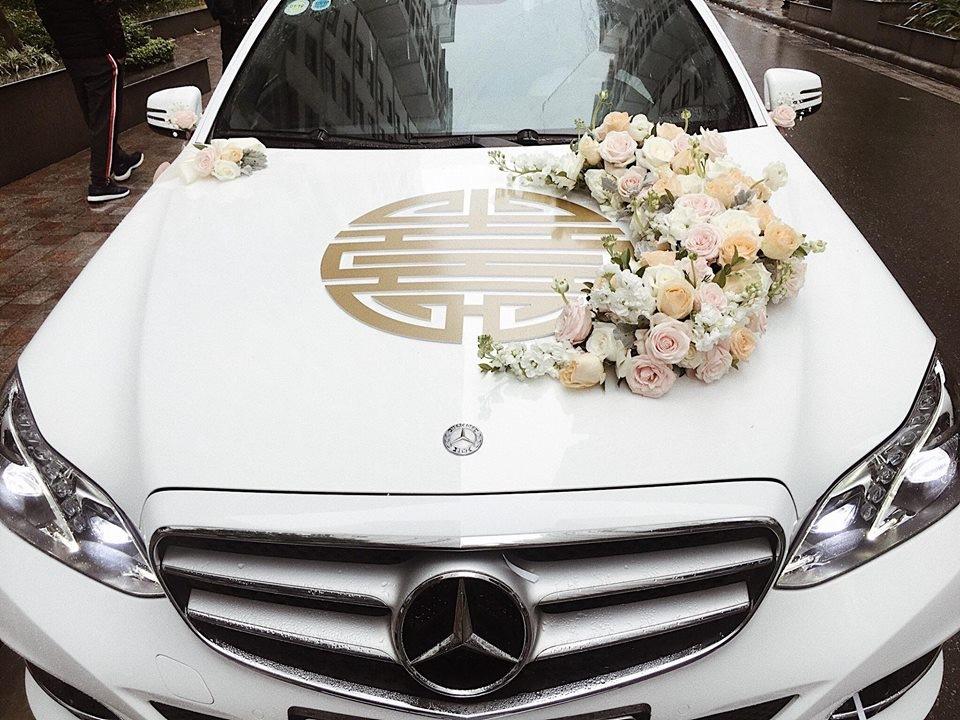 Những màu xe cưới thông dụng