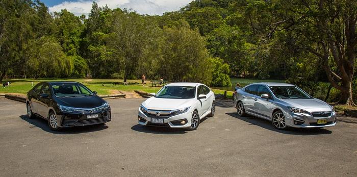 Nhiều mẫu xe 4 chỗ để lựa chọn thuê