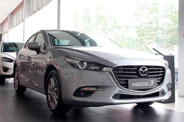 Mazda 3 Sedan trang bị vận hành an toàn