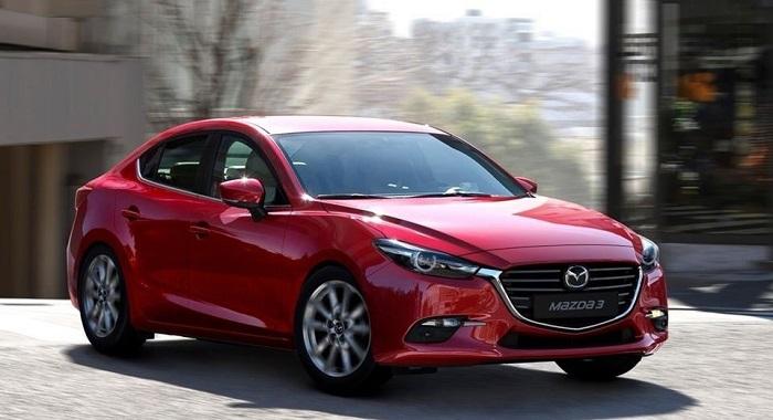 Mẫu xế hộp Mazda 3 sang trọng màu đỏ