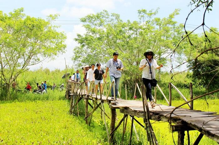 Du lịch ở Rừng U Minh Thượng ngày càng hot