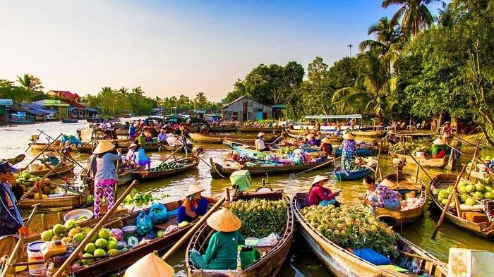 Du lịch phát triển ở các tỉnh miền Tây sông nước